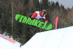 Lucien Koch - slopestyle Stock Photos
