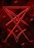 Lucifer封印  免版税库存照片