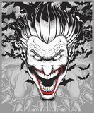 Lucifer, зло, демон, вектор чертежа руки шутника бесплатная иллюстрация