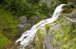 Lucifer Falls Robert H. Treman State Park Royalty Free Stock Images