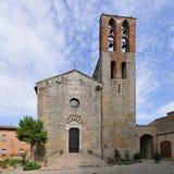 lucignano giovanni battista pieve s Тоскана Стоковые Изображения