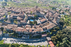 Lucignano in Tuscany Stock Image