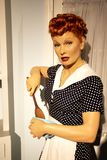 Lucille Ball στην κυρία Tussauds της Νέας Υόρκης στοκ εικόνα