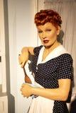 Lucille Ball i madamen Tussauds av New York fotografering för bildbyråer
