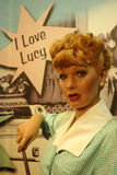 Lucille Ball Wax Figure Stock Images