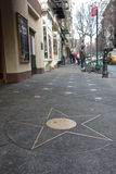 Lucille Lortel Playwright Star Sidewalk Stock Image