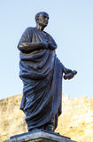Lucius Annaeus塞内卡,叫作塞内卡越年轻,科多巴,西班牙 库存照片