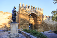 Lucius Annaeus Seneca, Cordoba, Spain Stock Photography