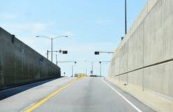 Lucius j kellam jr bridge tunnel  on september Royalty Free Stock Images