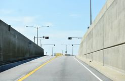 Lucius j kellam jr mosta tunel na Wrześniu obrazy royalty free