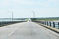 Lucius j kellam jr mosta tunel na Wrześniu Zdjęcia Stock