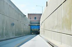 Lucius j kellam jr mosta tunel na Wrześniu Zdjęcie Stock