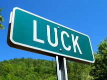 Luck 1 Royalty Free Stock Images