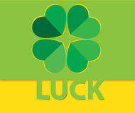Luck clover Royalty Free Stock Photography