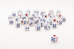 Luck of dice Royalty Free Stock Images