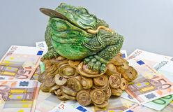 Luck frog Royalty Free Stock Photo