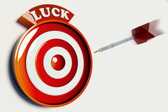 LUCK TARGET Stock Images