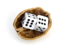 LUCK IS UNCERTAINTY 2 Stock Image