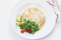 Luckachilienchiladas royaltyfria bilder