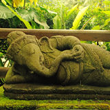 luckIndonesia的Ganesha-印度上帝 免版税库存图片