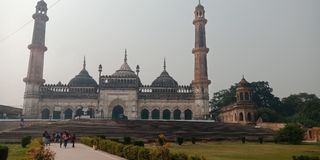 Lucknow is beroemdst van India Royalty-vrije Stock Foto's