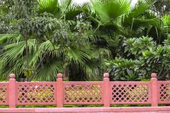 Lucknow Ghantaghar parkerar fotografering för bildbyråer