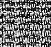 Luckor för svart markör tjock korsning royaltyfri illustrationer