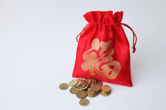 Lucky bag Royalty Free Stock Photography