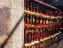 Lucky Bell In Temple foto de archivo