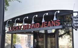 Lucky Brand Jeans foto de stock royalty free