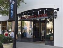 Lucky Brand Jeans Store Jacksonville, Florida royaltyfri fotografi