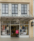 Lucky Brand Retail Store and Exterior Royalty Free Stock Images
