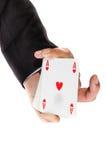 Lucky card Stock Photography