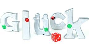 Lucky at cards, dice Stock Photos