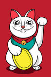 Lucky Cat. An image of lucky cat in cartoon style Stock Image