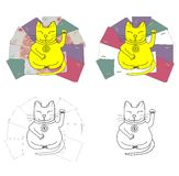 Lucky Cat illustration libre de droits