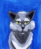 Lucky Cat adorable 2 illustration libre de droits