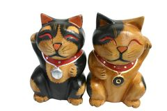 Lucky cat figure 2 Royalty Free Stock Images