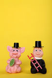 Lucky charm with chimney-sweep Royalty Free Stock Photo