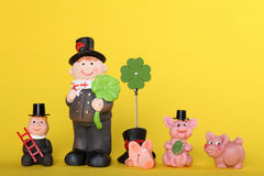 Lucky charm with chimney-sweep Stock Photos