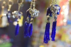 Lucky Charms dans la foire locale dans Durgapur, Inde Photos stock