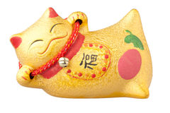Lucky chinese cat Stock Photography