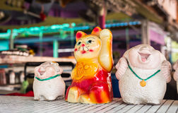 Lucky Chinese Cat Royalty Free Stock Image