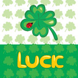 Lucky clover Royalty Free Stock Image