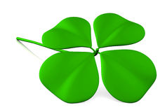 Lucky clover illustration Stock Image