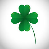 Lucky clover leaf icon Royalty Free Stock Photo