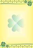 Lucky clovers Stock Photography