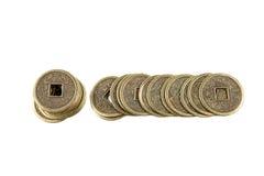 Lucky Coins Royalty Free Stock Photos