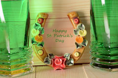 Lucky concept for Happy St Patricks Day Stock Photography