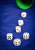 Lucky dice Royalty Free Stock Image